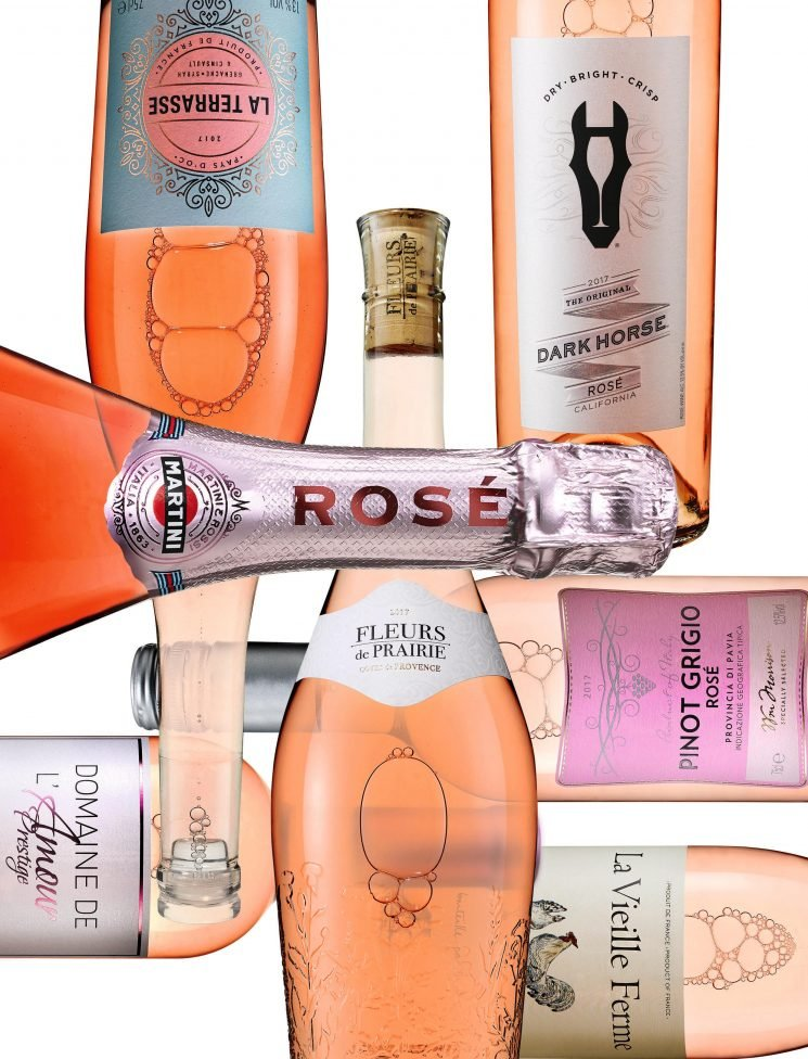 We're not blushing, honestly! We just really love these rose wines…