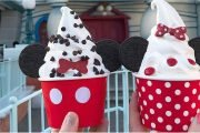 People Can't Stop Taking Photos of Disneyland's Cute Mickey and Minnie Soft-Serve Sundaes