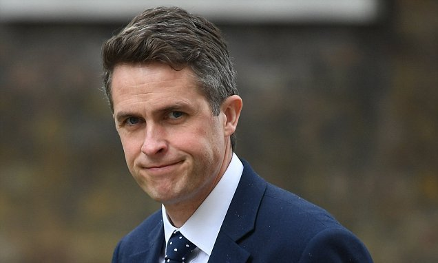 Gavin Williamson plots to recruit the Royal Family on defence spending