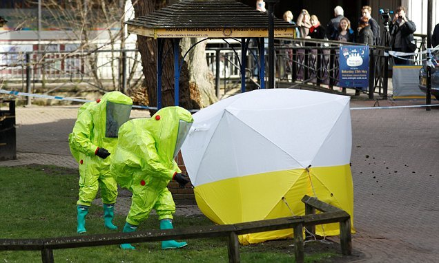 Police 'have grainy CCTV pictures of the suspected Novichok poisoners'