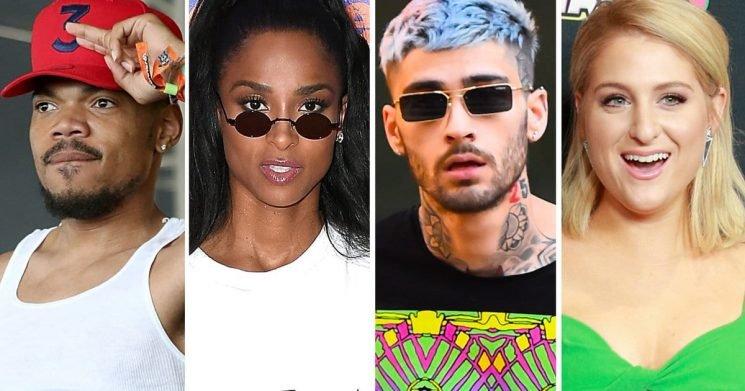 13 Songs You Gotta Hear on #NewMusicFriday: Chance The Rapper, Ciara, Zayn, Meghan Trainor