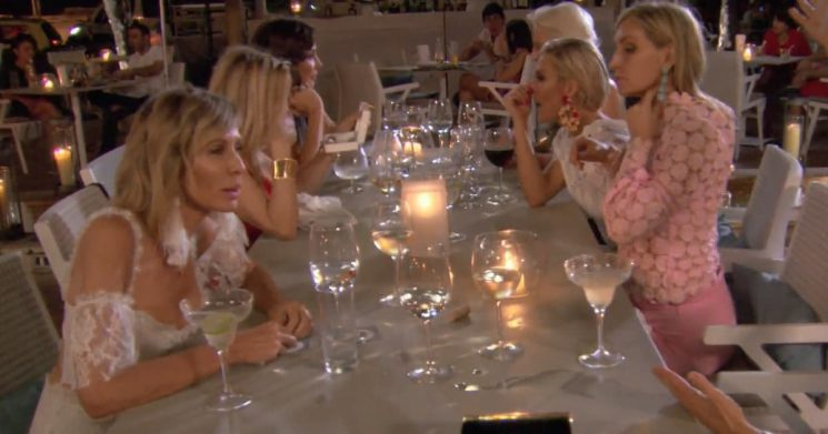 'RHONY' Bad Apple of the Week: Bethenny and Carole's Friendship Dissolves Over Dinner While Luann and Dorinda Debate Drinking Problems
