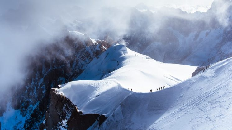 Instagram-famous photographer Johan Lolos captures the peaks of Europe