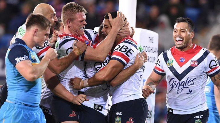 Bunker call stuns Titans as depleted Roosters stay in top-four hunt