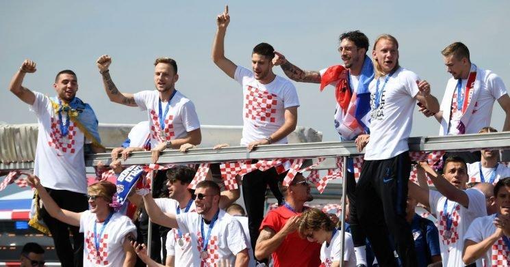 Croatia star Nikola Kalinic refuses World Cup silver medal