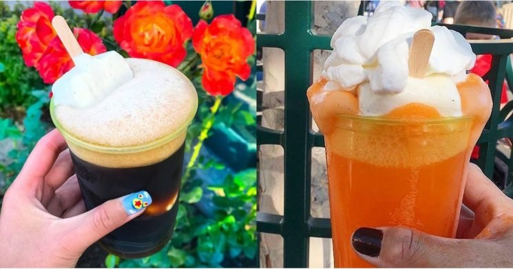 It's a Good Time to Be an Adult at Disney — You Can Order Boozy Ice Cream Floats!