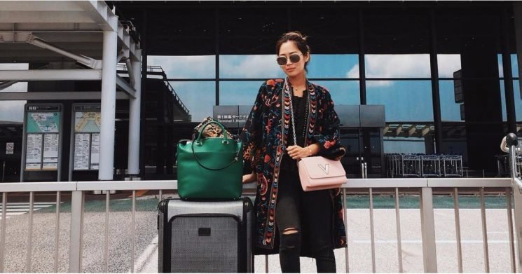 The 1 Smart Styling Move Every Fashion Girl Makes For a Flight