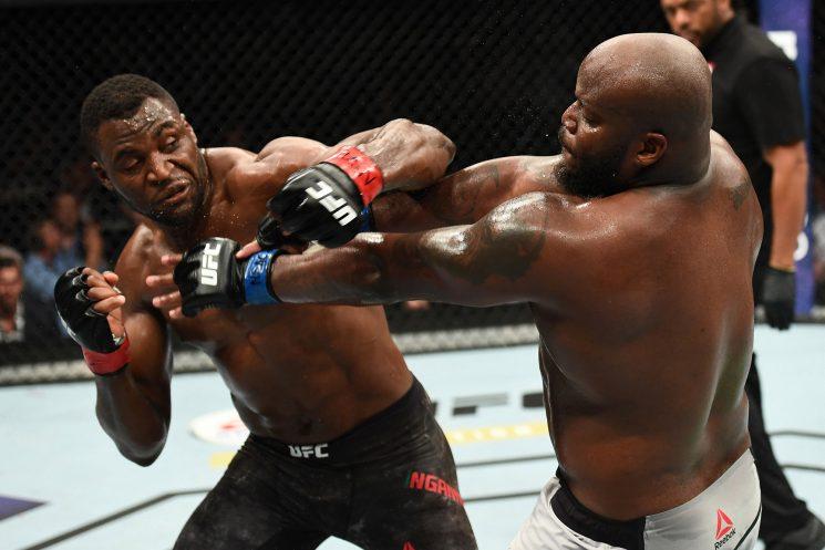 UFC's heavyweight 'monster' a broken mess in historic UFC flop