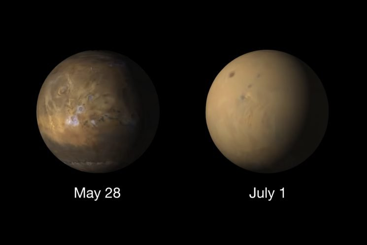 Why Mars now looks like a completely different planet