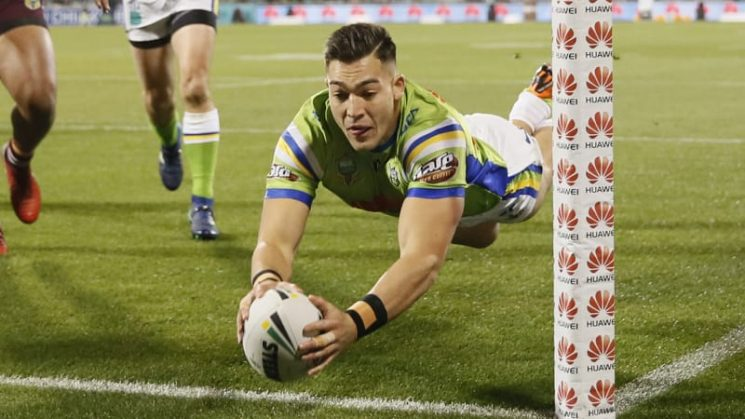 The sky is the limit for Canberra Raiders star Nick Cotric