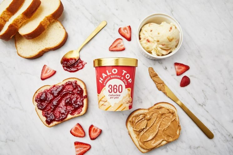 Halo Top Just Launched A PB&J Flavor & You Can Get A Pint For FREE