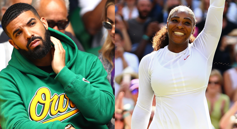 Drake Supported Serena Williams At Wimbledon & Fans Had SO Many Feelings About It