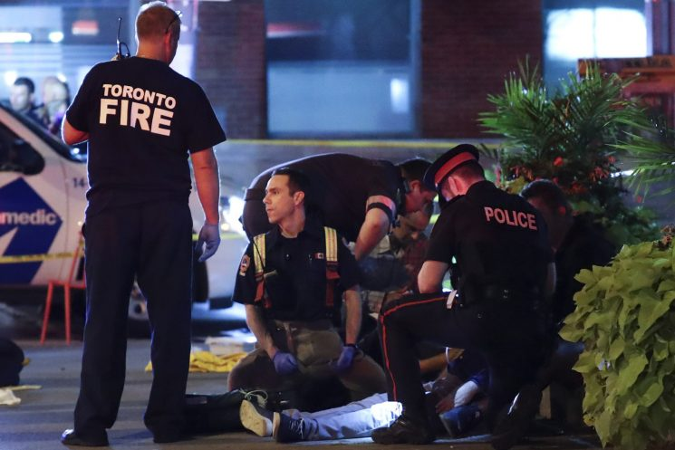 Toronto gunman was a 'kook' obsessed with Batman: cops