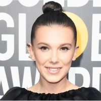 There's Nothing Strange About Millie Bobby Brown's Hot Pink Eyeliner Look