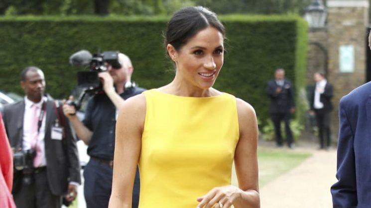 Meghan makes her fashion Markle in 'Gen Z yellow'