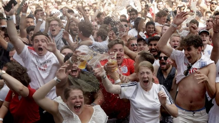 Football is not coming home… it is already there in English hearts