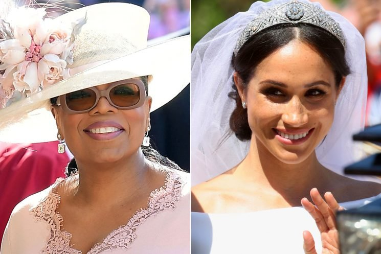 Oprah Winfrey Just Revealed How Meghan Markle and Prince Harry's Royal Wedding Left Her Feeling