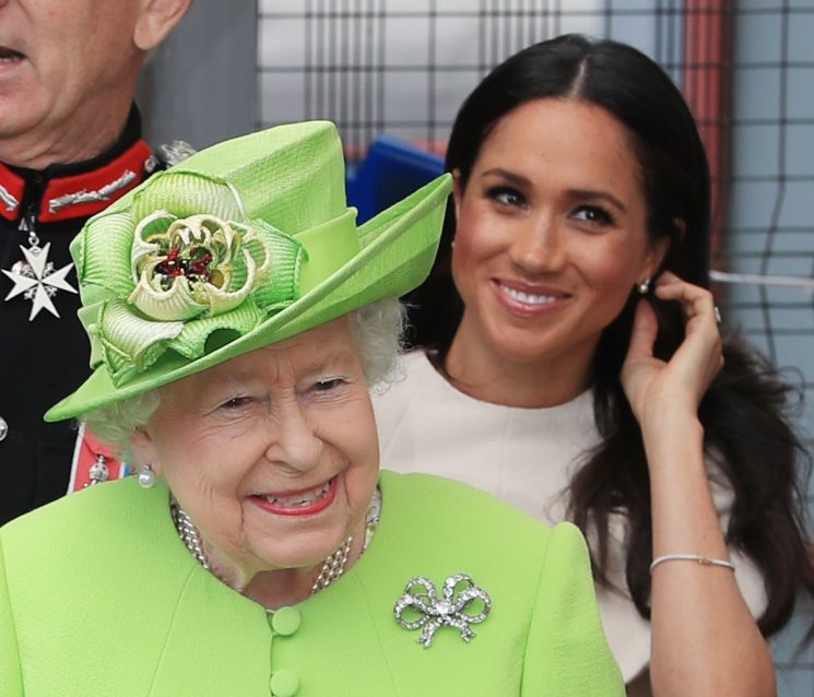 Meghan Markle Reportedly Can't Eat This Fave Dish At Buckingham Palace