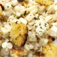 This Corn Salad With Cornbread Croutons Is a Corn-ucopia of Deliciousness