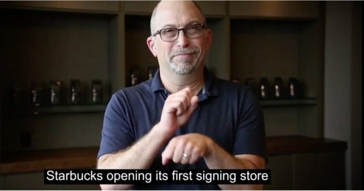 "Starbucks Will Employ Deaf and Hard of Hearing People at Its First ""Signing Store"" in the US"