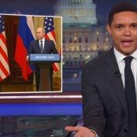 'Surreal': US late night hosts mock Trump's presser with his 'KGBFF' Putin