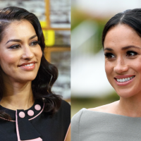 Janina Gavankar Helped Meghan Markle On Her Wedding Day In This Totally Relatable Way