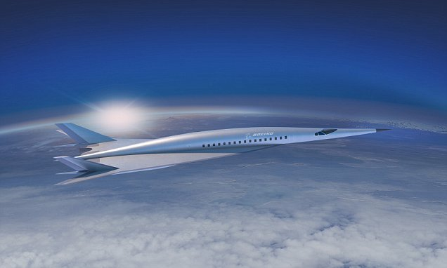 New Boeing jet could slash flight time to New York to TWO HOURS