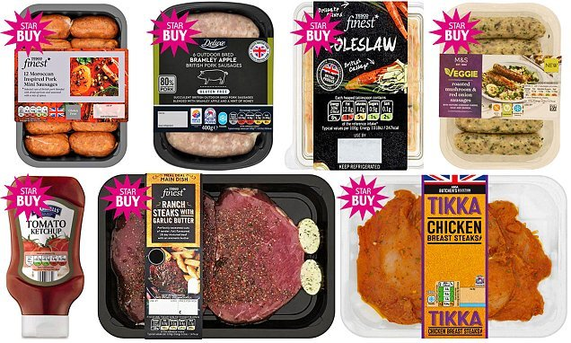 Taste, price and quality: Daily Mail supermarket jumbo BBQ review