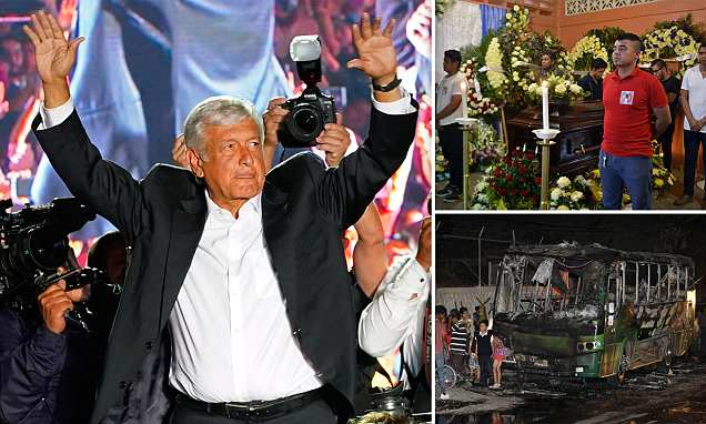 Mexico's voters lean toward 'moral' leftist candidate