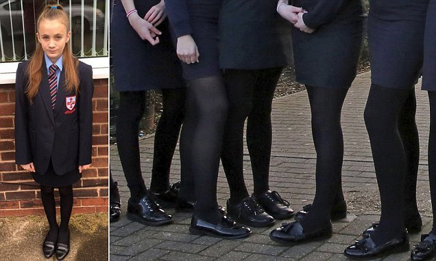 Girls cannot wear skirts as schools opt for gender-neutral uniforms
