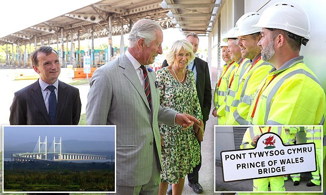 Charles and Camilla kick off a three-day tour of Wales