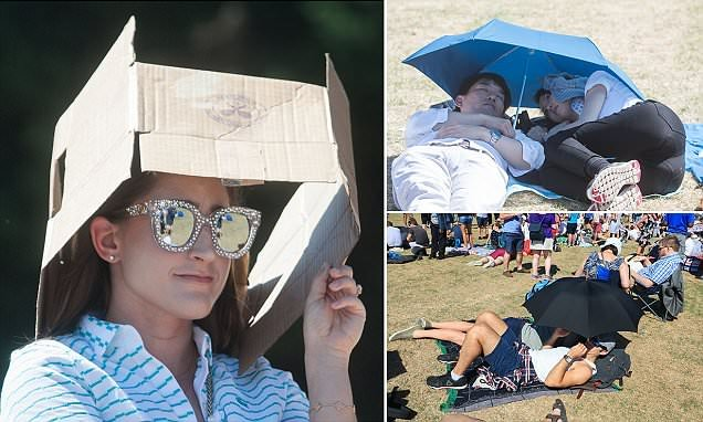 Temperatures soar to 32C (90F) during Day 1 of hottest-ever Wimbledon