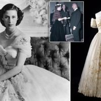 Princess Margaret's 21st birthday Dior gown to go on display at V&A