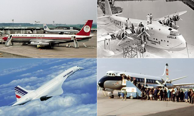 Stunning images chart influential aircraft that have changed aviation