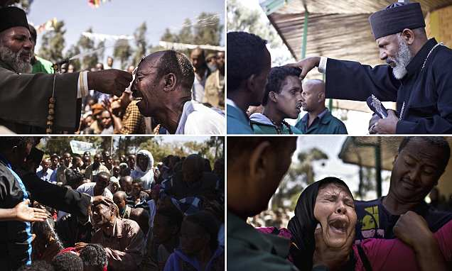 The Exorcist: Priest performs mass exorcism on hundreds in Ethiopia