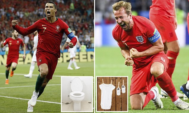 'Cristiano Ronaldo' toilet and 'Harry Kane' babywear sold in China
