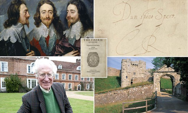 Charles I cryptic message found in a book he read before execution