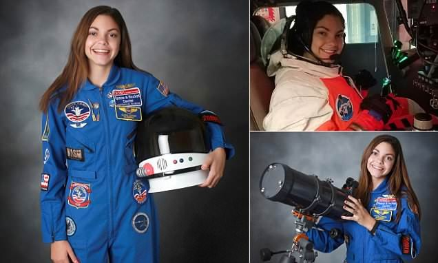Meet the 17 year old who hopes to be the first human to reach Mars