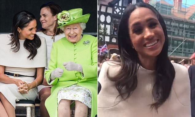 Social media users are convinced Meghan has a British accent