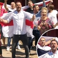 EastEnders cast sing It's Coming Home ahead of England Vs Sweden game