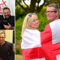 Couples prepare to tie the knot as England face Sweden in World Cup