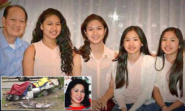 Surviving mom of crash which killed husband and FOUR daughters speaks