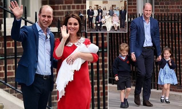 Prince Louis will be christened TODAY — everything you need to know