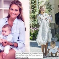 Princess Madeleine posts candid snap with her 'little angel' Adrienne