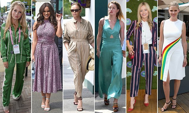 Stella McCartney, Amber Heard and Lara Stone lead Wimbledon fashion