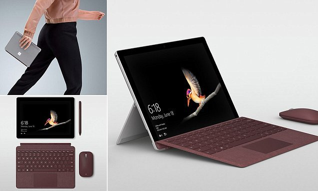 Microsoft unveils its new Surface Go tablet
