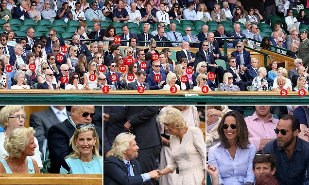 Is this the most star-studded Royal Box EVER?