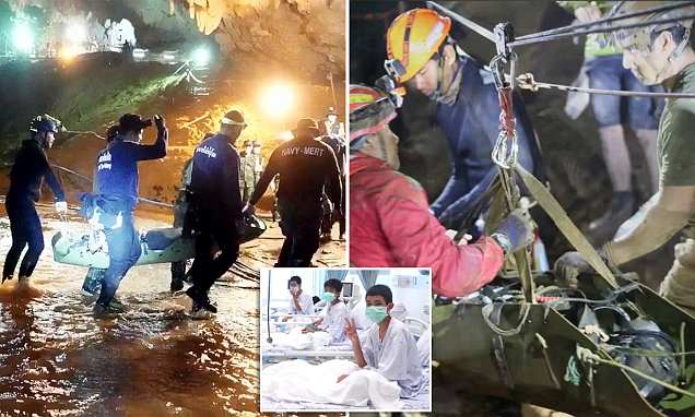 Thai cave boys were drugged to stop them panicking