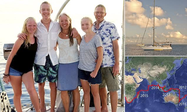 Seattle family live on BOAT for ten years after jacking in ideal life