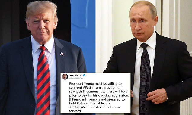 Democrats call on Trump to demand Putin HAND OVER 12 Russian officers
